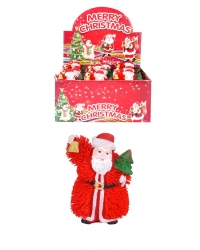 Image of 12 x Light Up Santa Puffer Toys