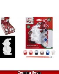Image of 18 x Paint Your Own Christmas Elf