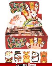 Image of 96 x Christmas Finger Puppets
