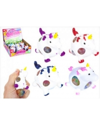 Image of 12 x Squishy Unicorn Bead Balls 9cm