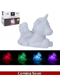 Image of 6 x Colour Change LED Unicorn Lamps