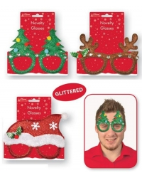 Image of 12 x Novelty Christmas Glasses