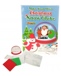Image of Wrapped Grotto Toys - Make Your Own Snow Globe x 12