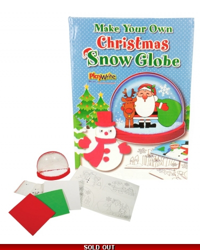 Wrapped Grotto Toys - Make Your Own Snow Globe x 12
