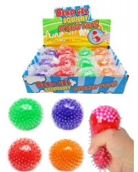 Image of 12 x Squishy Bead Balls 5cm
