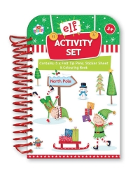 Image of 12 x Christmas Elf Activity Packs