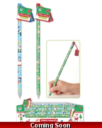Image of 24 x Giant Christmas Pencils With Sharpener