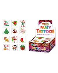 576 x Christmas Tattoos