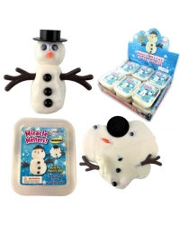 Image of 12 x Melting Snowman Putty Tubs