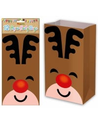 Image of 144 x Reindeer Paper Party Bags
