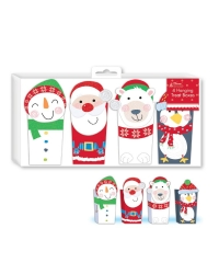 Image of 6 x Hanging Christmas Treat Boxes 4pk