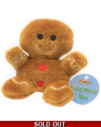 Image of 24 x Plush Mini Gingerbread Men 10cm