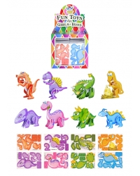 Image of 144 x Dinosaur 3D Puzzles
