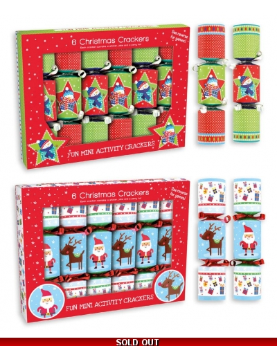 "6x6"" Christmas Crackers Novelty"