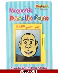 Image of Wrapped Grotto Toys - Magnetic Doodle Face x 12