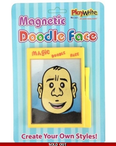 Wrapped Grotto Toys - Magnetic Doodle Face x 12