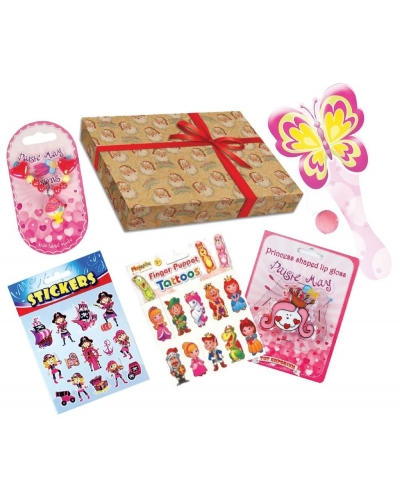 Wrapped Grotto Toys - Girls Santa Selection Boxes x 12