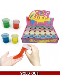 Image of 24 x Colourful Slime Tubs 5cm