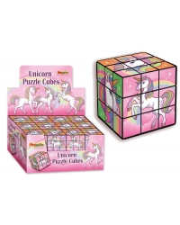 Image of 24 x Unicorn Puzzle Cubes