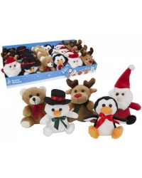 Image of 24 x Xmas Plush Buddies 10cm