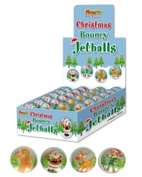 Image of 48 x Christmas Bouncy Balls 35mm