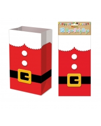 Image of 144 x Santa Suit Paper Party Bags