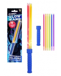Image of 12 x Glow Stick Multi Strand Wands