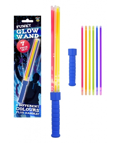 12 x Glow Stick Multi Strand Wands