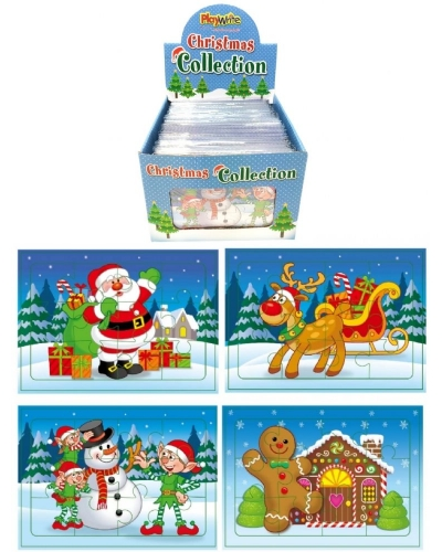 120 x Christmas Jigsaw Puzzles