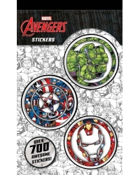 Image of 12 x Marvel Avengers 700 Stickers