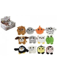 Image of 36 x Plush Animal Dinkines 7cm