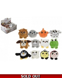 Image of 36 x Plush Animal Dinkies 7cm