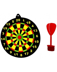 Image of 72 x Dartboard With Sticky Dart Games