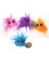24 x Plush Hairy Monsters 5