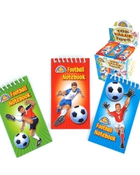 Image of 120 x Football Notebooks