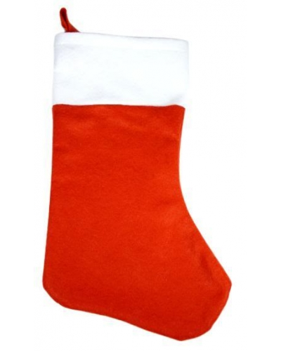 24 x Budget Felt Santa Stockings