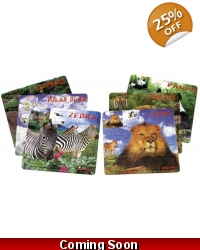 96 x Wild Animal Jigsaws
