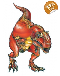 Image of 100 x Large Allosaurus Dinosaur Tattoos
