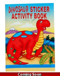 Image of 24 x Dinosaur Sticker Activity Books