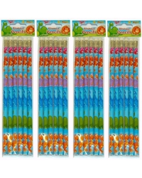 Image of 24 x Dinosaur Pencils 6pk