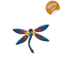Image of 100 x Dragonfly Tattoos