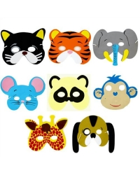 72 x Foam Animal Masks