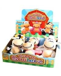 12 x Plush Farm Smilerz