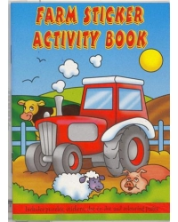 Image of 24 x Farm Sticker Activity Books