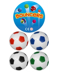 Image of 100 x Football Bouncy Balls 35mm