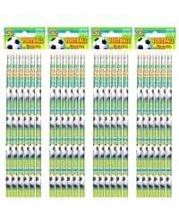 Image of 24 x Football Pencils 6pk
