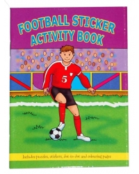 Image of 24 x Football Sticker Activity Books