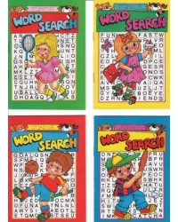 Image of 24 x A6 Junior Word Search Books