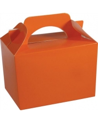50 x Orange Food Boxes