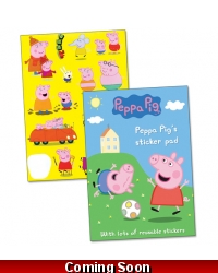 Image of 12 x Peppa Pig Sticker Pads